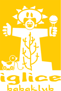 Iglice babaklub sárga logó
