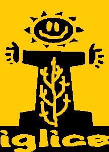 Iglice sárga logó