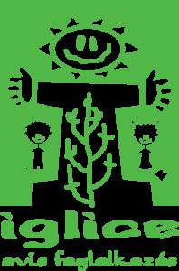 Iglice ovis foglalkozás zöld logó