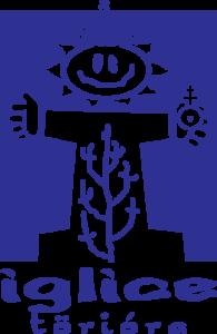 Iglice törióra lila logó